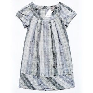 NEW WITH TAG H&M Plaid Dress With Pockets Size 4